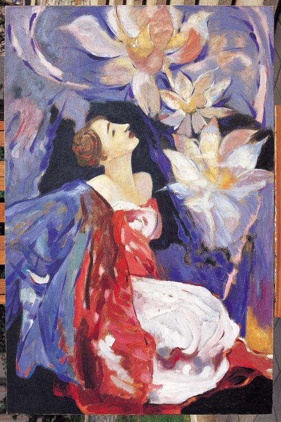 泉—王鲲油画作品展在左右当代艺术馆开幕(图)
