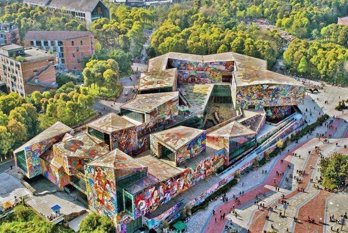 四川美术学院:西南地区唯一一所高等美术院校,了解一下!
