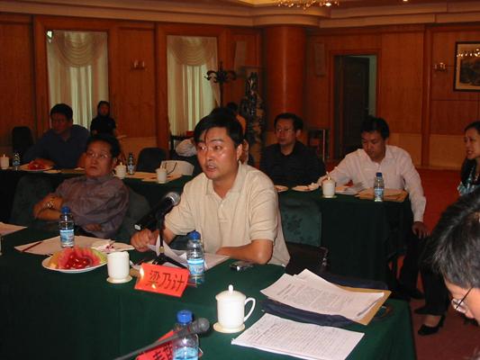 青岛酒店管理职业技术学院副书记、常务副院长梁乃计发言-大众网校