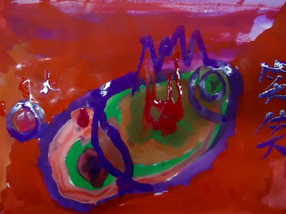 幼儿教师水粉画
