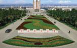 青岛农业大学南门俯瞰图