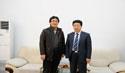 韩国草堂大学来学院洽谈合作办学