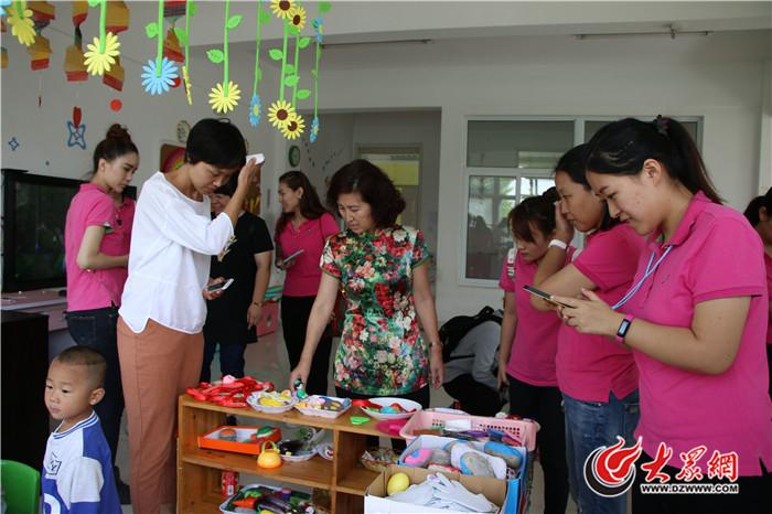 济南市历下区第一实验幼儿园与帮扶幼儿园共度教师节