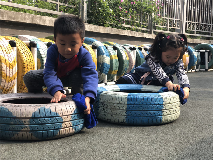 """槐荫区演马佳苑幼儿园""""五一""""劳动节主题教育活动"""