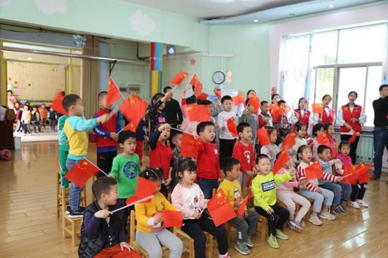 济南职业学院赴山东省旅游发展委员会幼儿园开展职业教育周活动