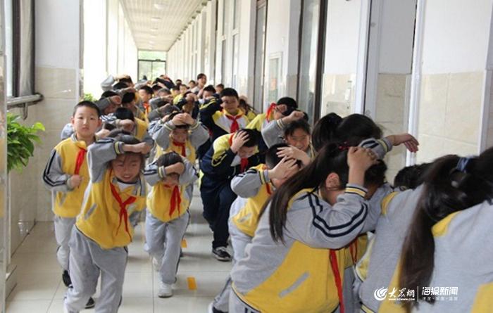 防患未然 生命至上:章锦小学逃生疏散演习活动